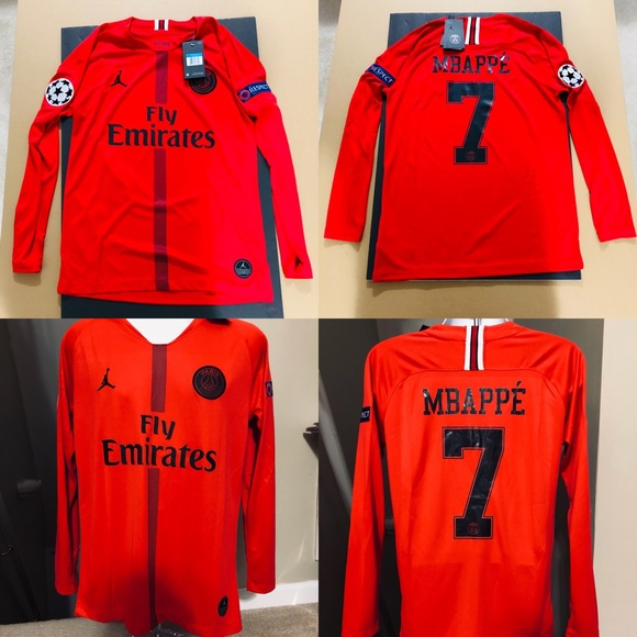 official photos 98055 d1be5 2019 ⚽️ Jordan Jersey Mbappe #7 Soccer PSG UEFA 🚨 NWT
